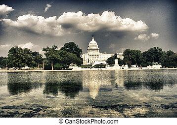 Washington, capitolio, CC