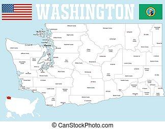 Washington county map