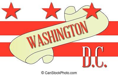washington d.c., スクロール
