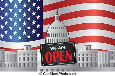 washington d.c., 国会議事堂, ∥で∥, 私達, ありなさい, 印を 開けなさい