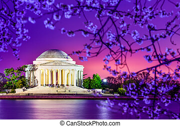 Jefferson Memorial - Washington, DC at the Jefferson...