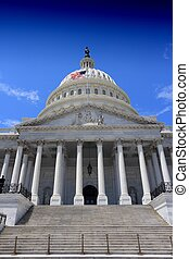 National Capitol - Washington DC, capital city of the United...