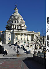 Washington DC - Capitol Hill Building in Winter