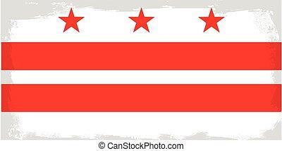 Washington DC City Flag