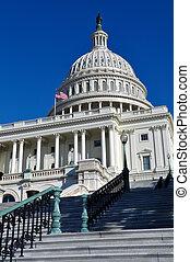 washington dc, colina de capitol, edificio