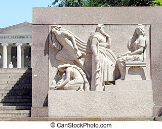 Washington DC Court of Appeals bas-relief 2013 - Bas-relief...