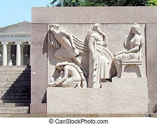 Washington DC Court of Appeals bas-relief 2013 - Bas-relief...