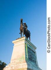 washington dc, estatua