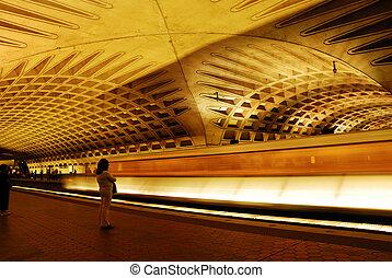 washington dc, métro
