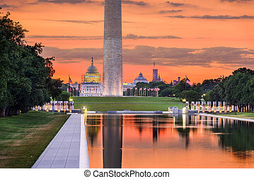 washington dc, monuments