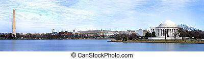 Washington DC Panoramic - Beautiful Panoramic of Washingotn ...