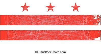 Washington DC State Flag - The Washington DC State Flag in...
