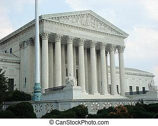 Washington DC - Supreme Court Building Washington DC