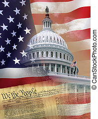 Washington DC - Symbols of the USA
