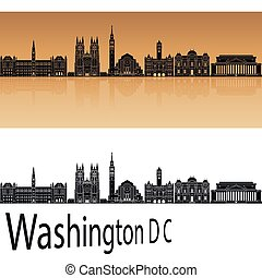 Washington DC V2 skyline