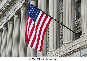 Washington DC, capital city of the United States. US Department of Commerce.