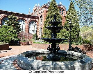 Washington Fountain in Smithsonian 2010
