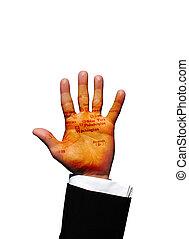 Washington hand