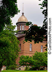 washington hrabství, dějinný, soud