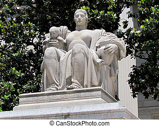 Washington National Archives Heritage Sculpture 2013 - The...