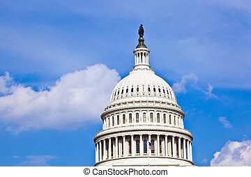 washington, nous, dc, capitole