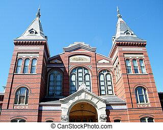 Washington Smithsonian facade 2010