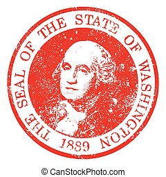 Washington State Seal Stamp