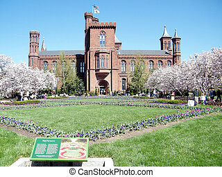 Washington the Smithsonian Castle 2010