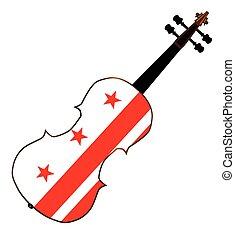washington, violon, dc