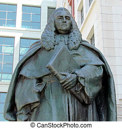 Washington William Blackstone statue 2013