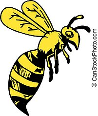 wasp-flying-cartoon-DWG