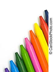 wassen crayons