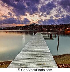 wasser, dock
