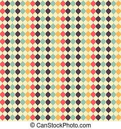 wasser, farben, herbst, seamless, muster