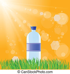 wasser- flasche
