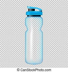 wasser- flasche, sport