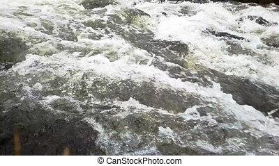 Wasser, Schnell,  closeup, Fluß, starke