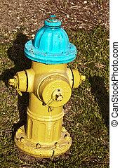 wasser, zünden hydranten, brigade