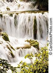 wasserfälle, krka, nationalpark, kroatien