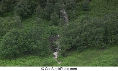 wasserfall, an, ardchullarie, mehr, scotland-, ungraded, version