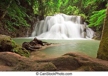 wasserfall, thailand
