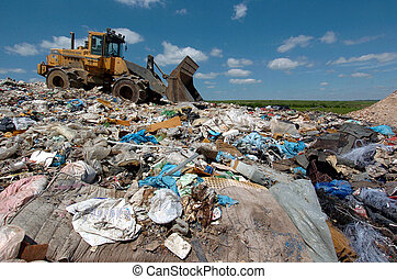 waste disposal site - waste disposal