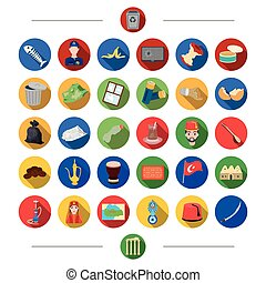 Waste, ecology, nature and other web icon in cartoon style.Turkey, attributes, tourism, icons in set collection.