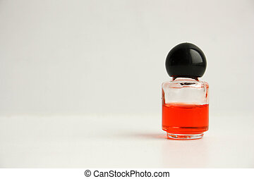 Waste of resources concept. Perfume