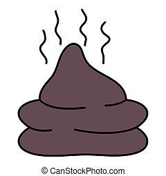 waste organic pet isolated icon vector illustration design