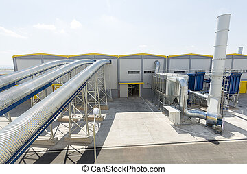 Waste plant pipelines