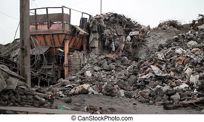 waste products at mining career 03