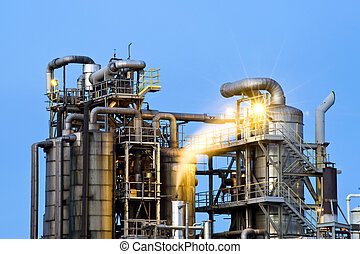 Waste water cleaning facility - An industrial waste water...