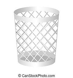 Wastebasket illustration