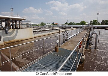 Wastewater Treatment Plant - Wastewater treatment plant...